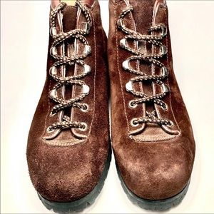 Women's Vintage Alps Hiking Boots Size 6.5 N